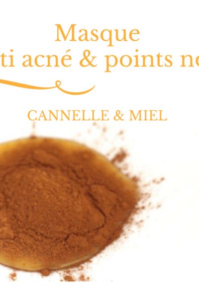 masque-acné-cannelle-miel