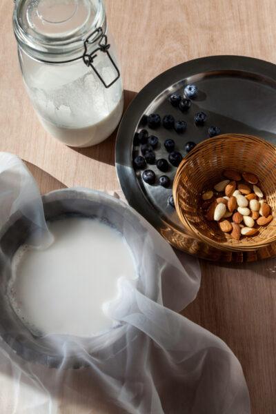 faire son lait d'amandes soi même