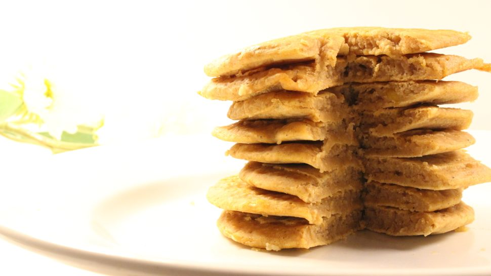 recette pancakes patate douce healthy