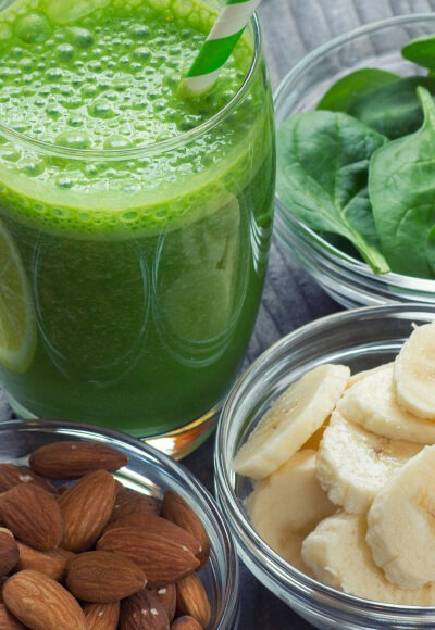 recette green juice smoothie légumes healthy
