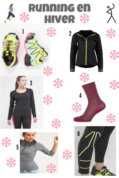 courir en hiver équipement liste