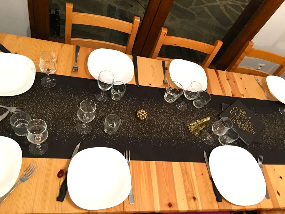 decoration table de noel blog