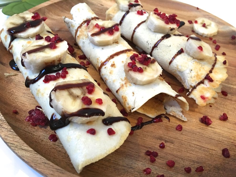 recette crepes proteines