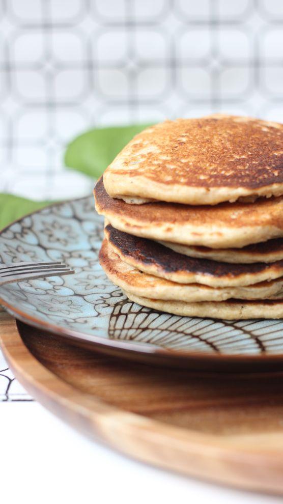 pancakes healthy flocons avoine