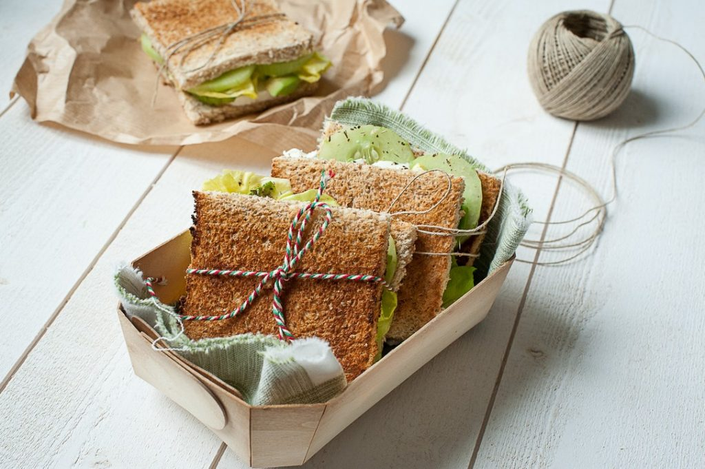 recette legere sandwich