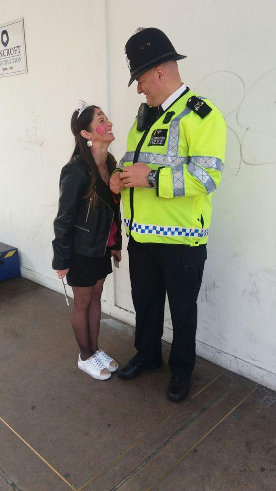 policier londres