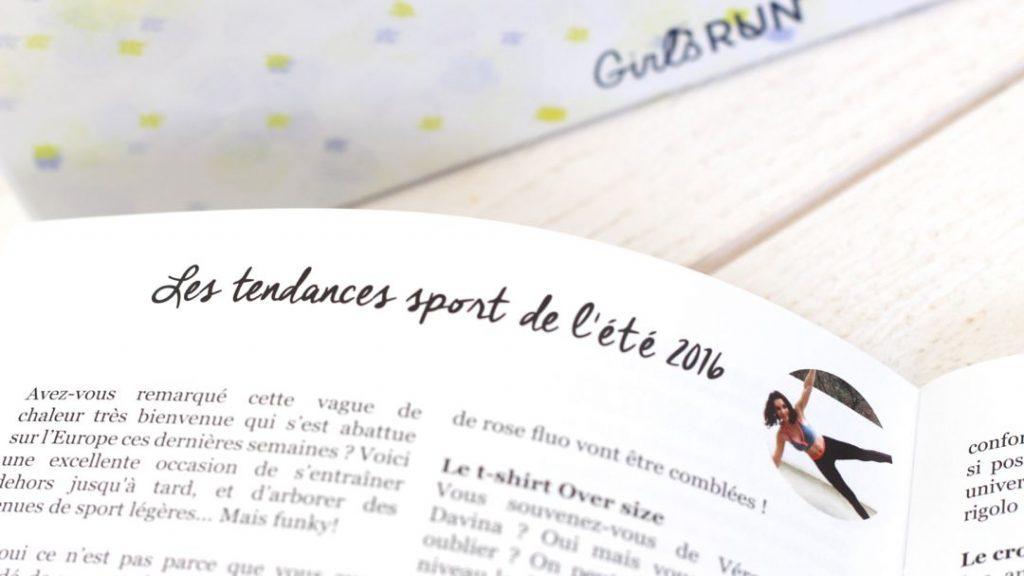 magazine fitness running femme