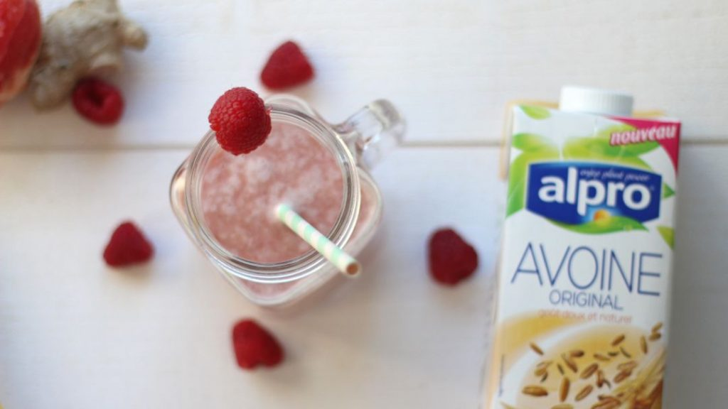 smoothie healthy framboise