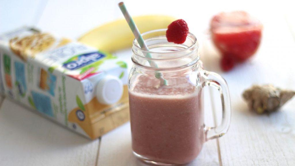 recette smoothie lait vegetal