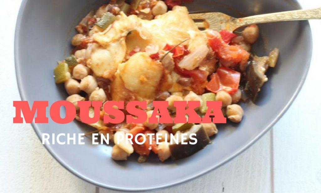 Une recette saine pour réaliser une moussaka, riche en protéines.