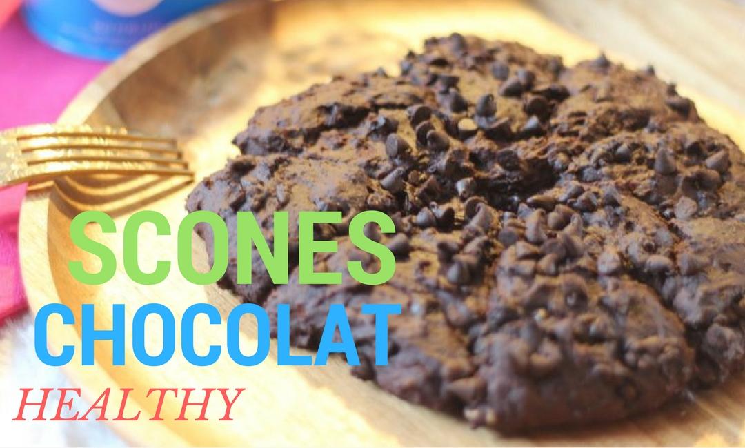 Rien de plus simple que de réaliser des scones au chocolat, un dessert sain , une recette que tous vos amis vont adorer.