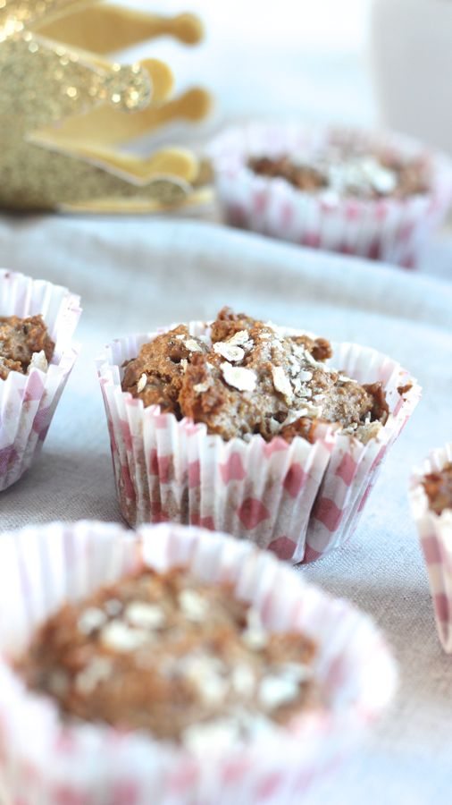 Muffins aux flocons d'avoine, c'est simple, délicieux et healthy.