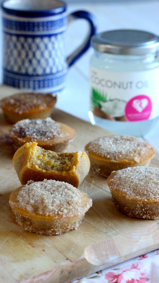 muffins patate douce cannelle