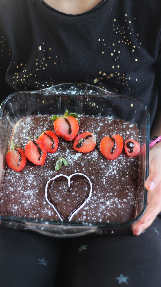 Brownie healthy au chocolat fondant