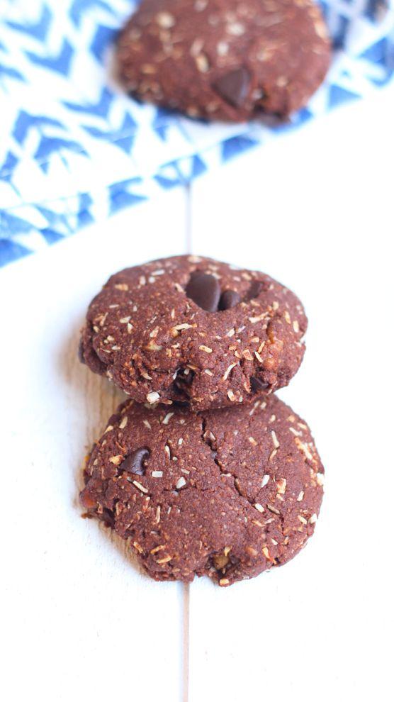 cookies double chocolat et coco
