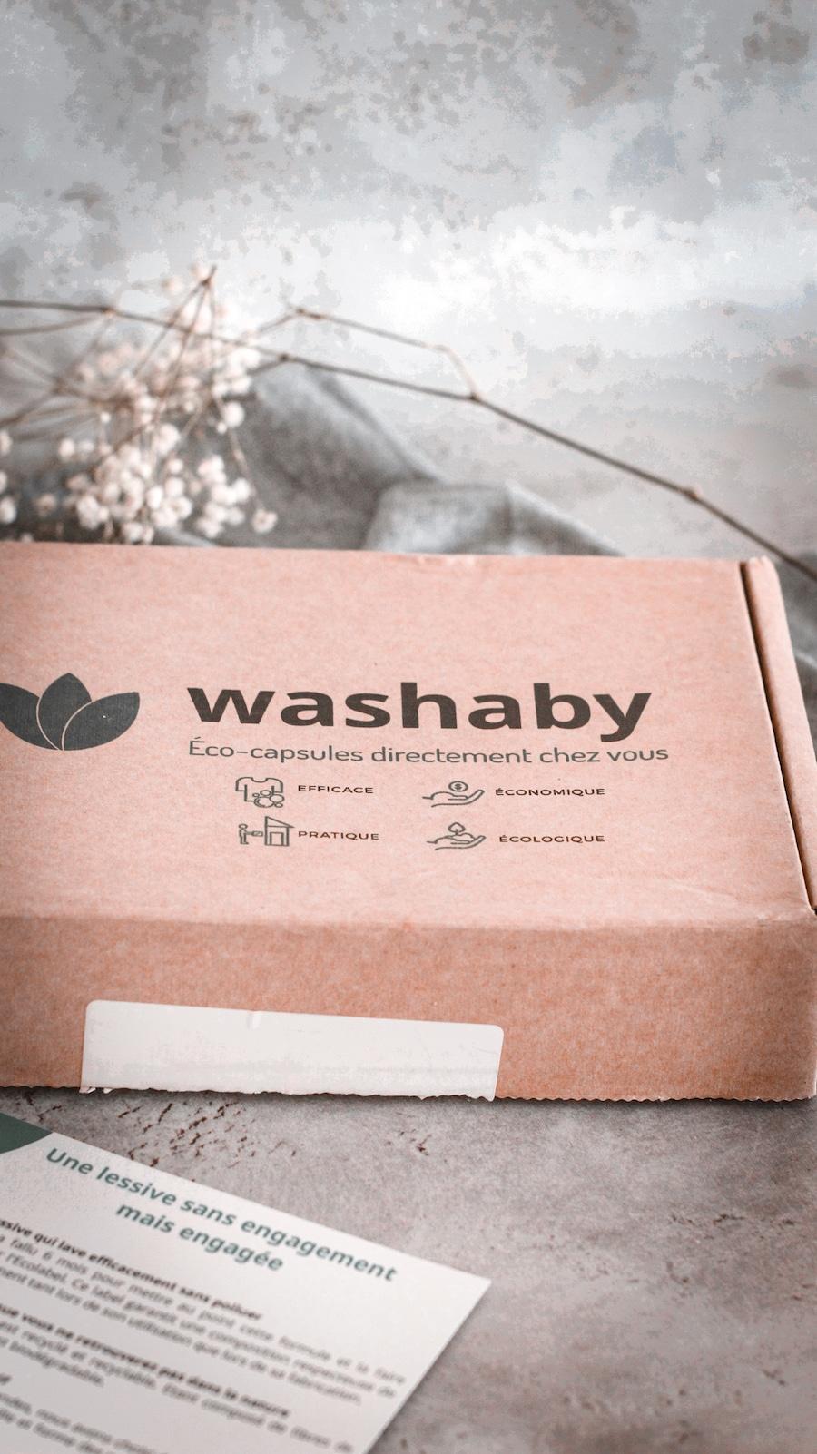 Washaby, la lessive écologique, qui respecte la planète. Zéro déchet, moins chère qu'une lessive équivalente. Livraison à domicile.