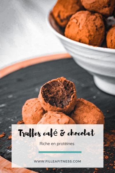 Truffes au café et chocolat
