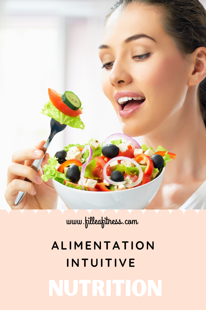 Alimentation intuitive, mon avis