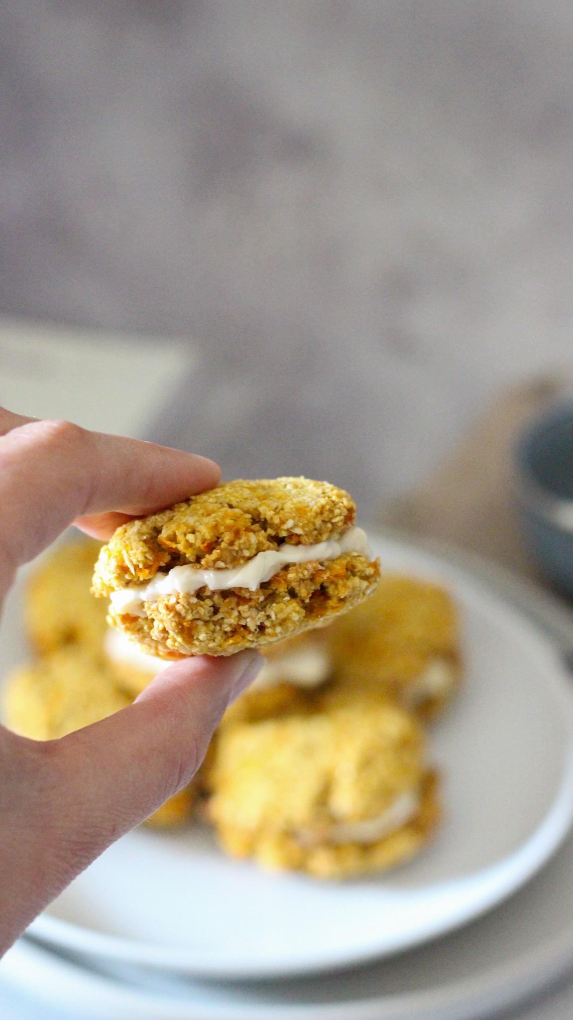 recette biscuits sans gluten carotte